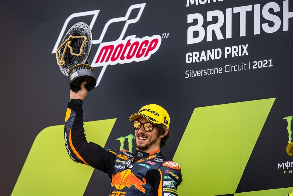2021 Moto2 British Grand Prix - Remy Gardner (image courtesy KTM Factory Racing)