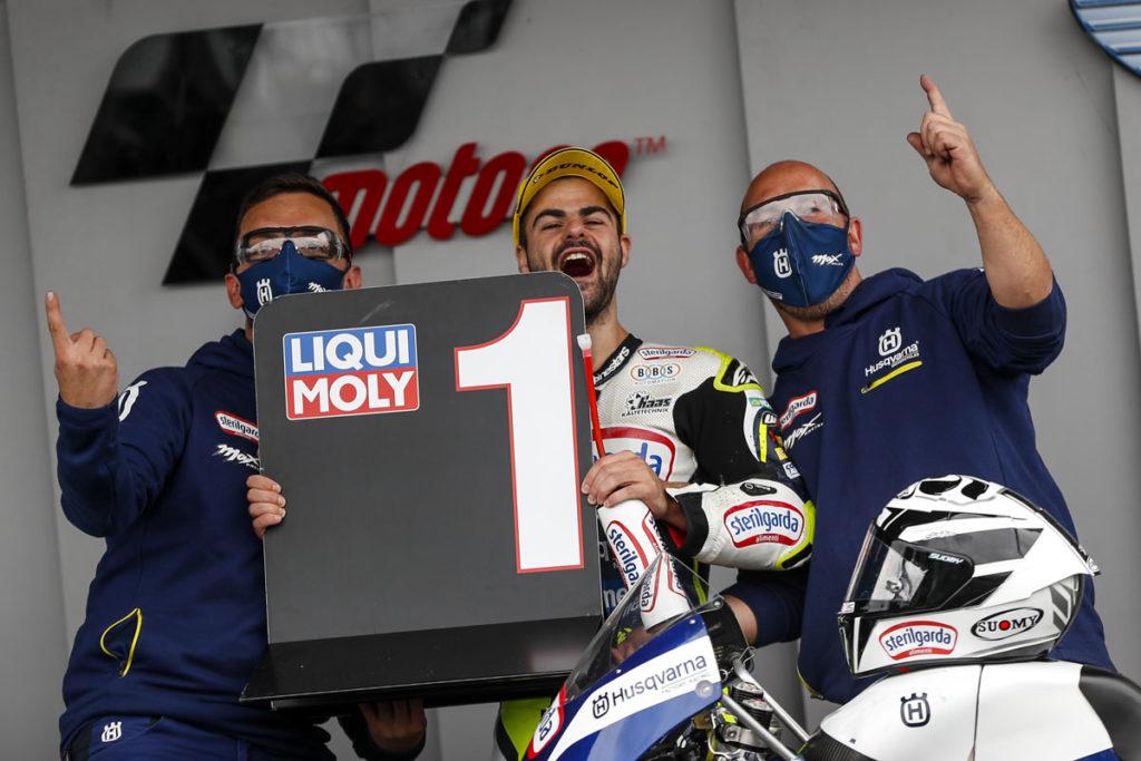 2021 Moto3 British Grand Prix - Romano Fenati (image courtesy Sterilgarda Max Racing Team)