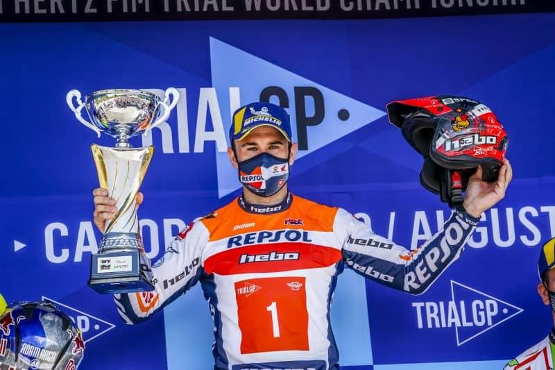 2021 French GP - Toni Bou (image courtesy Repsol Honda)
