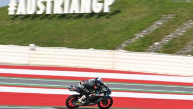 Fifth row Moto3 start for McPhee at AustrianGP