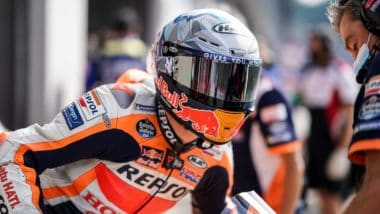 Second and fourth row starts for Marquez and Espargaro in Austria
