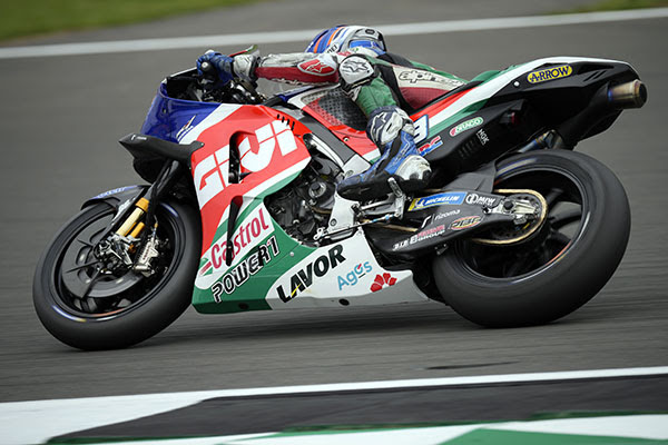 Álex Márquez remains positive after challenging first day at Silverstone