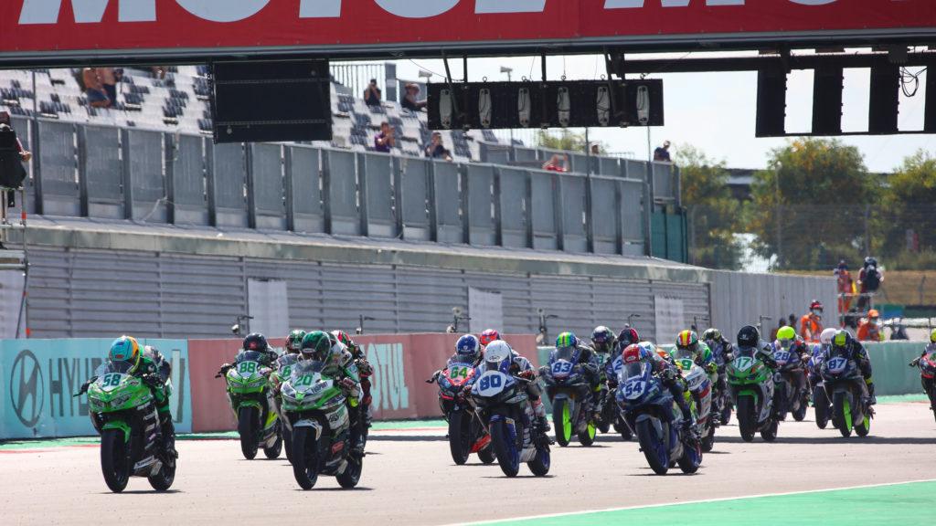 MotoGP bikes vs World Superbikes