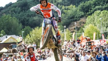 Toni Bou's Spanish TrialGP double leaves him just one point shy of a 15th title