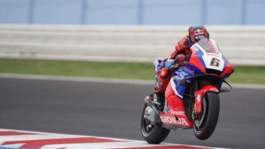 Bradl on the pace in Misano wildcard return
