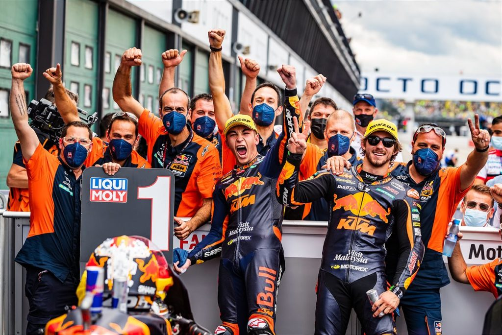 Binder recovers positions and speed for 9th at San Marino MotoGP™