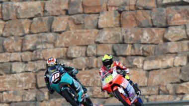 Binder shines under Aragon sun to end Friday third