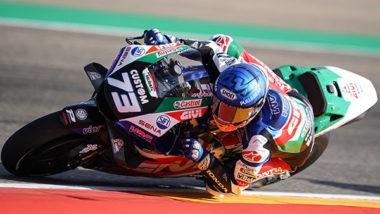 Álex Márquez upbeat after solid start at AragonGP